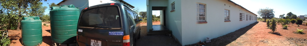 YWAM Livingstone panoramic view from the street