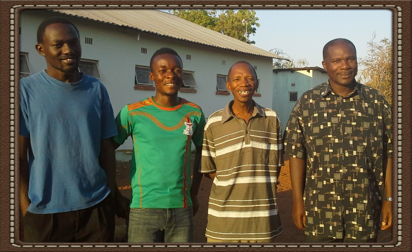 Jonathan (right) and 2014 School of Church Planting & Leadership participants